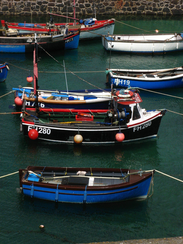 Fishing boats, Coverack, Cornwall