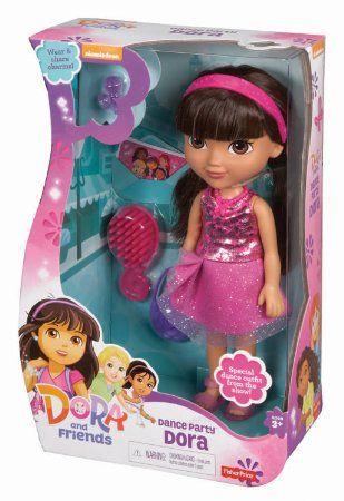 Amazon Com Fisher Price Nickelodeon Dora Friends Dance Party Dora Toys Games Dora And Friends Friends Dancing Dora