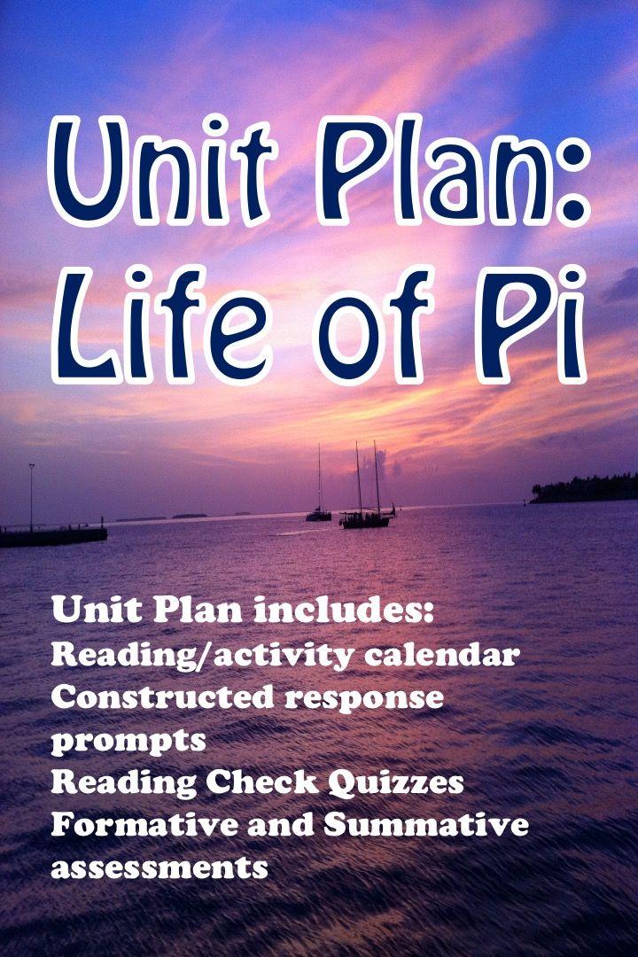 Life Of Pi Unit Plan Grades 9