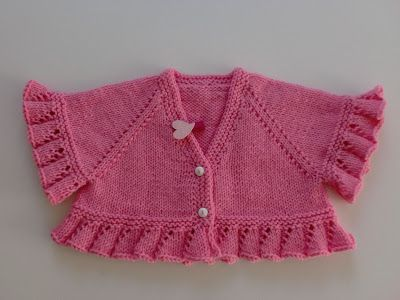 Örgükolik'ten Örgüler: ŞEKER BOLERO:) #children'ssweaters