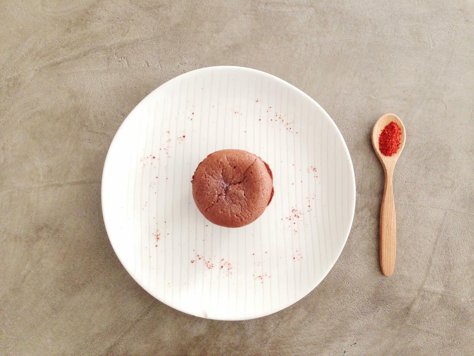 Recette Balibert - Moelleux au chocolat et piment d'Espelette