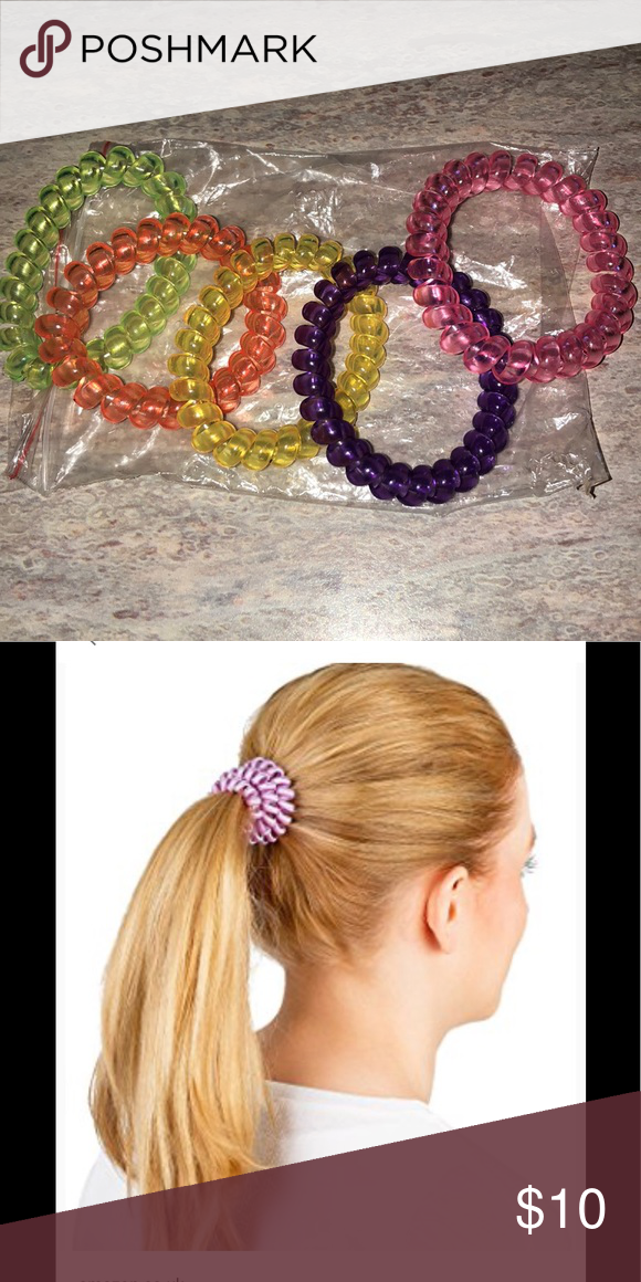 New Spiral Hair Tie Ponytail Holders