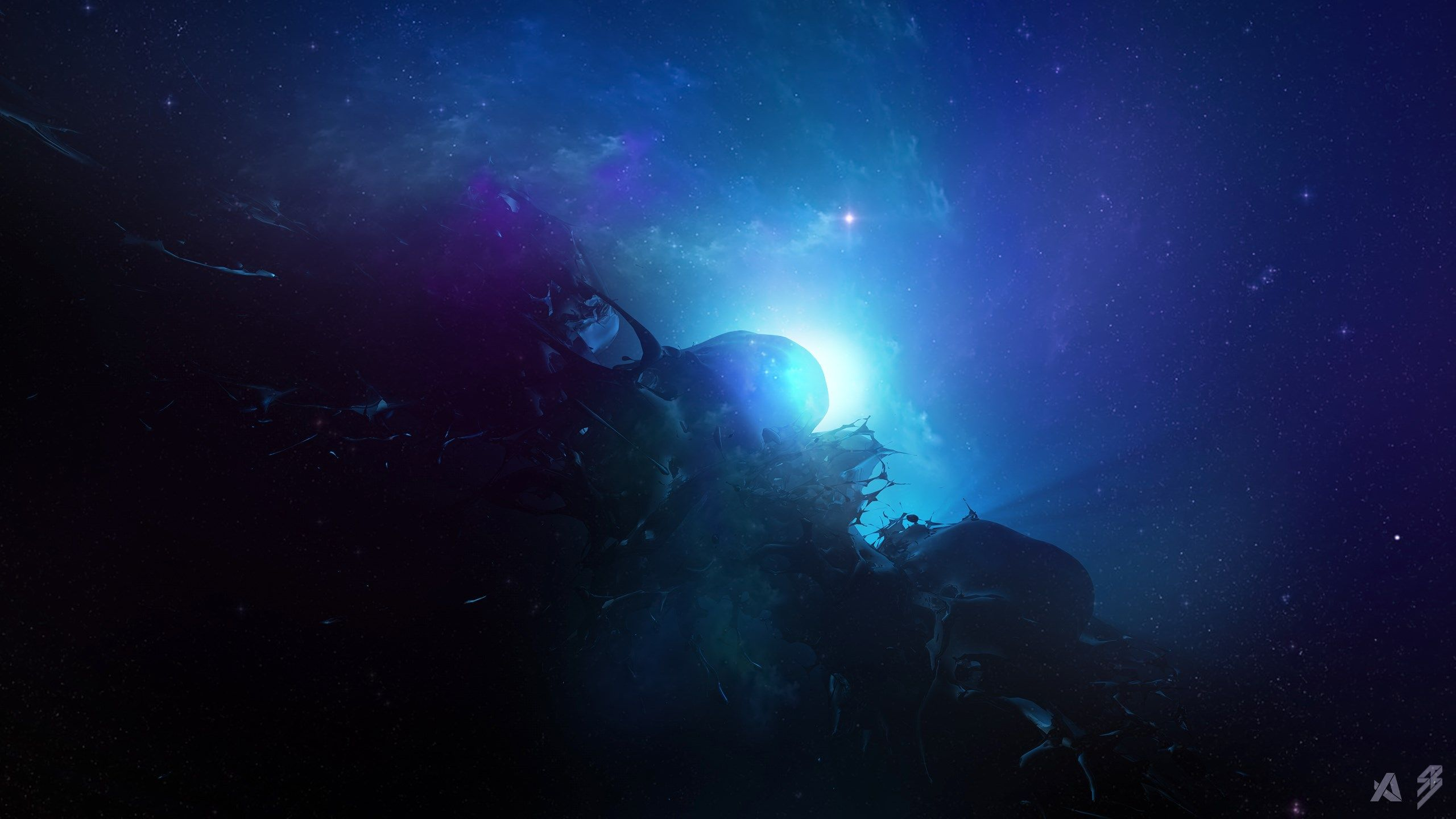 2560x1440 px high resolution wallpapers = space wallpaper
