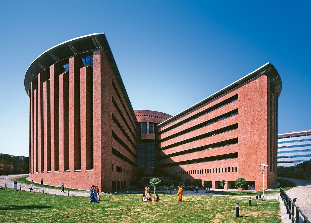Tcs deccan park madhapur hyderabad by mario botta tata for Architecture colleges list in hyderabad