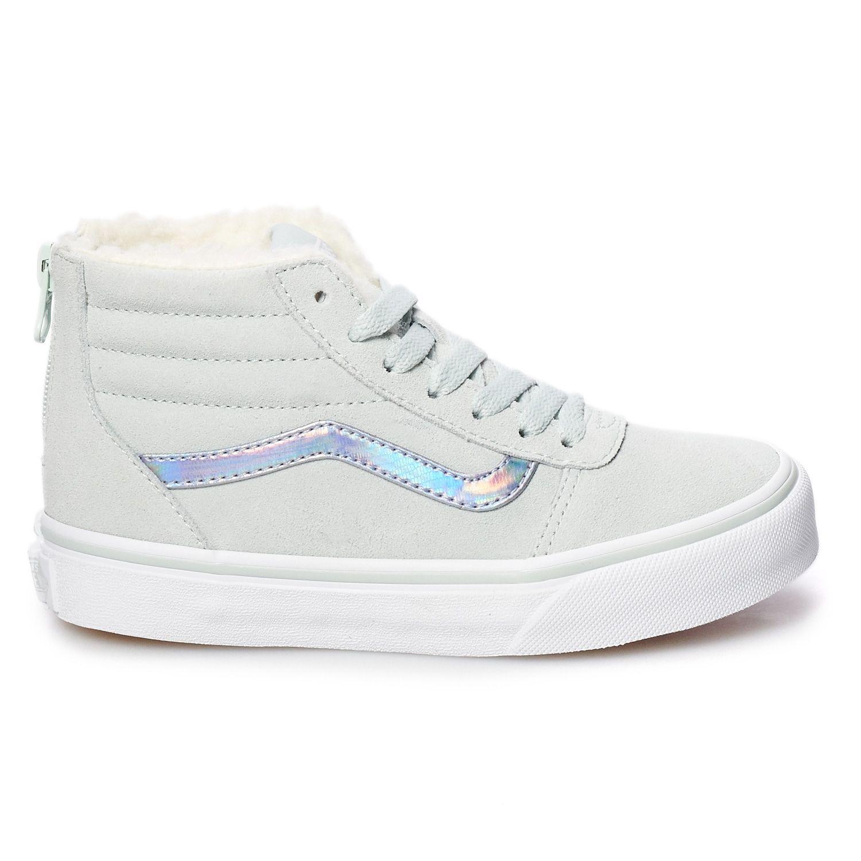 Vans Ward Hi Zip Girls' Flowers Skate Shoes #Zip, #Ward