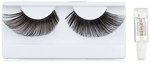 ebac94ca2d6 Baci Glamour Style No.569 Black Feather Eyelashes with Adhesive Included,  Black >>> See this great product.