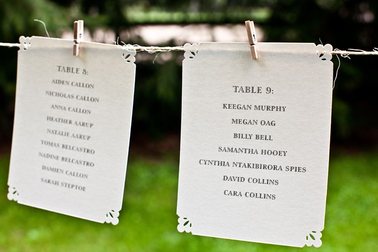 Seating Plan Looks Super Easy To Do Yet Rather Pretty Wedding