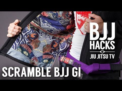 Scramble 'Sengoku' jiu-jitsu gi review || BJJ Hacks - YouTube