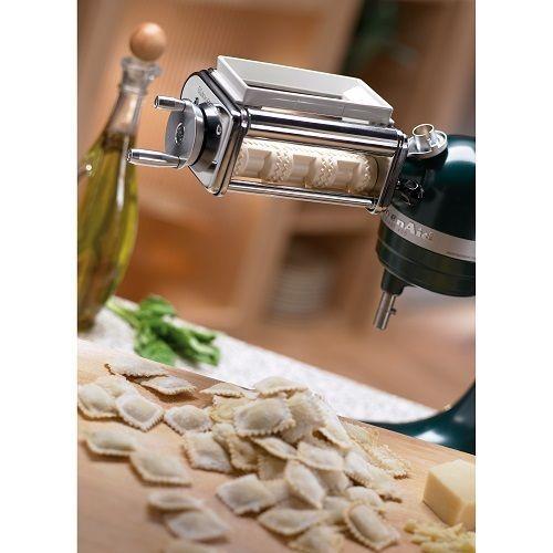 Ravioli Maker Kitchenaid Krav Attachment Mixer Pasta Stand kitchen Wide Roller #KitchenAid