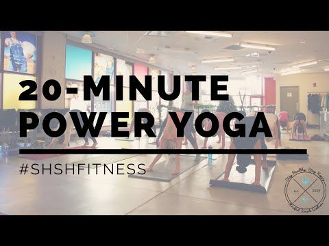 20minute belly buns and thighs yoga workout  full