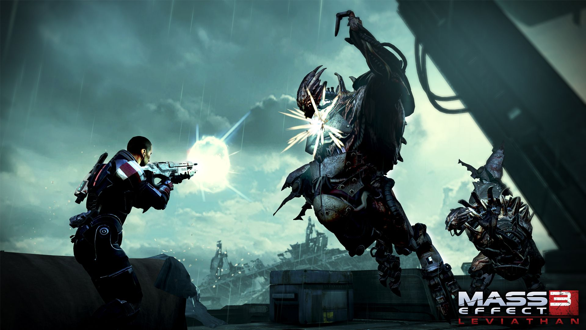 Launch Day Screen Shot From Mass Effect 3 Leviathan With Images