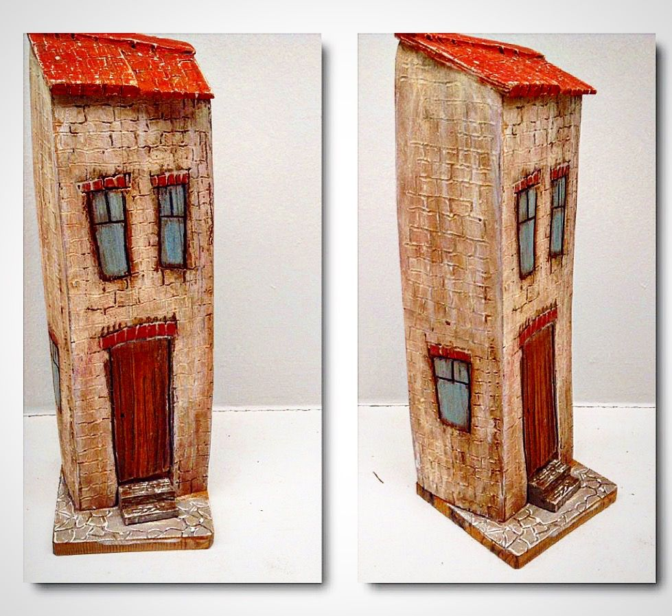 Little wood house by greytimberwolfcrafts@etsy.com | Decorations ...