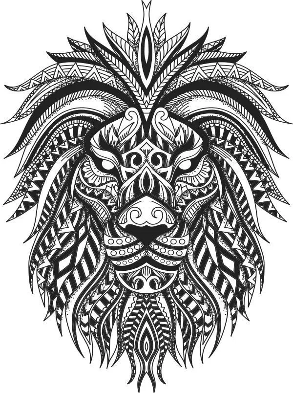 Pin By Josemartinezjr On Shit Tribal Lion Tattoo Tribal Lion Lion Tattoo Design