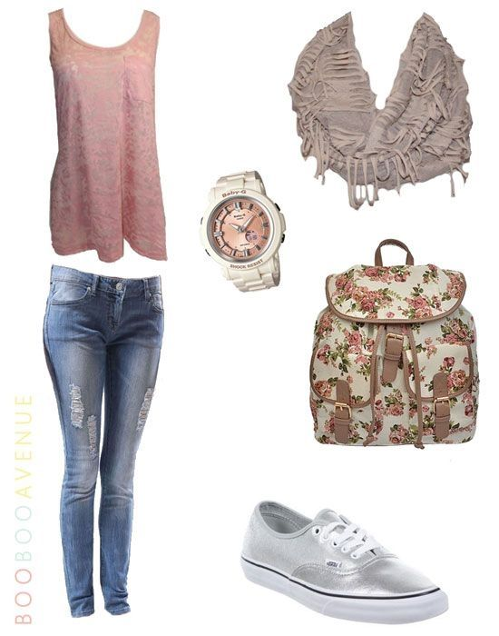 20 Cute Outfits for Teen Girls for School | Cute Back to School ... | Cute Outfits | Pinterest ...