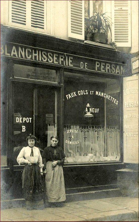 La Blanchisserie De Persan Au N 36 De La Rue Saint Andre Des Arts