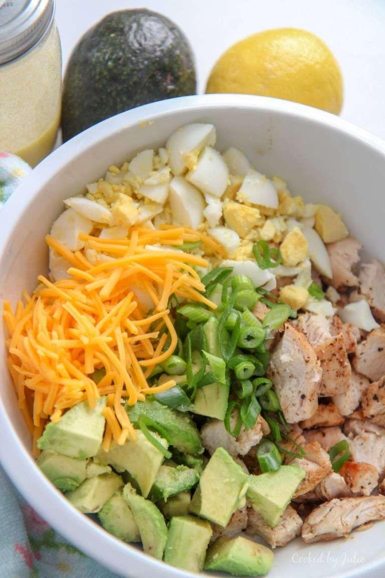 Avocado Chicken Salad Low Carb Recipe Avocado Recipes Best