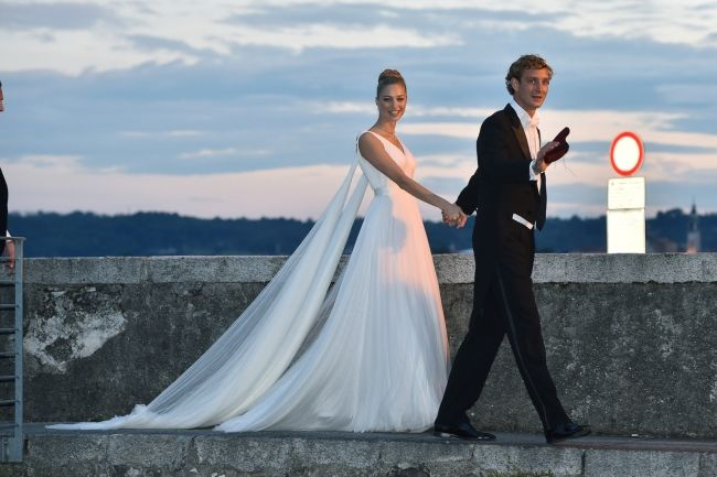 The 2015 royal wedding of Monaco: Beatrice Borromeo weds Pierre ...