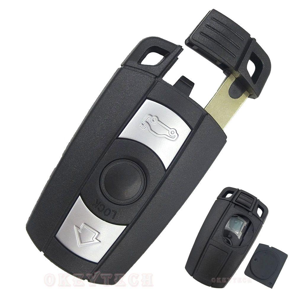 Remote Control Car Key Case For Bmw 1 3 5 6 Series E90 E91 E92 E60