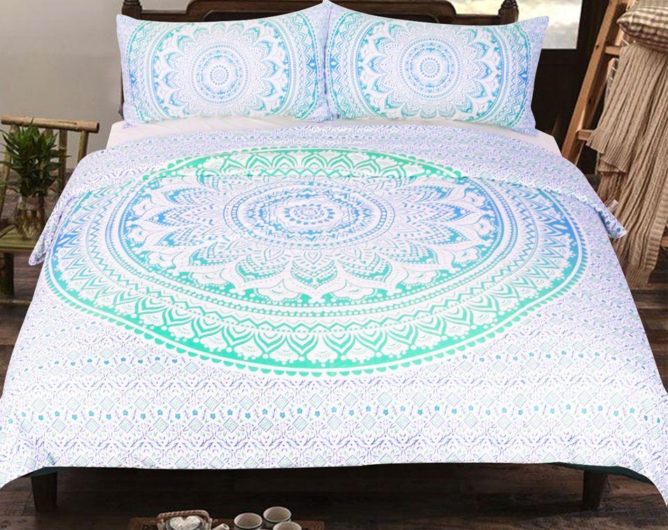 Bohemia Mandala Cover Set Mandala Bedding Boho Bedding Comforter Sets