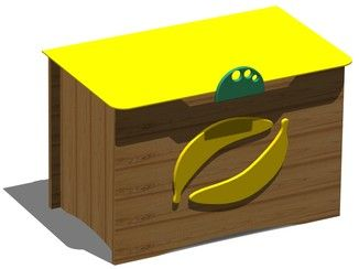 wooden toy storage box banana box toy storage boxes storage toy storage pinterest