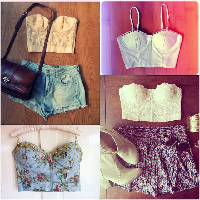 Bustier... cropped