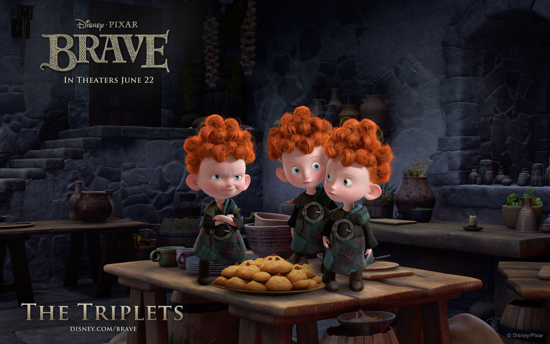 The TripletsBRAVE images Triplet Bears wallpaper and