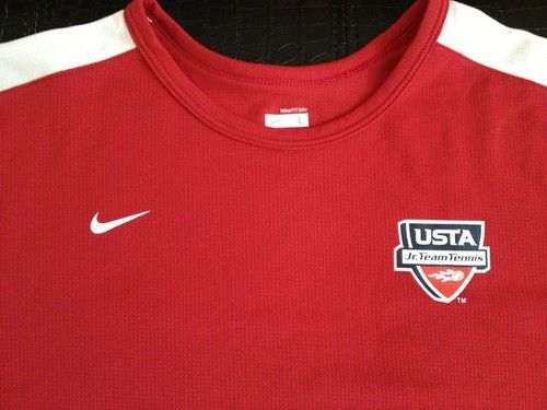 USTA Jr. Team Tennis Nike L(14-16) shirt. Great shirt for the court! Can be worn by girl or boy. SMOKE-FREE home
