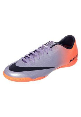 39a8d4a0df2e4 Nike Performance MERCURIAL VICTORY IV IC - Botas de fútbol sin tacos -  naranja - Zalando.es