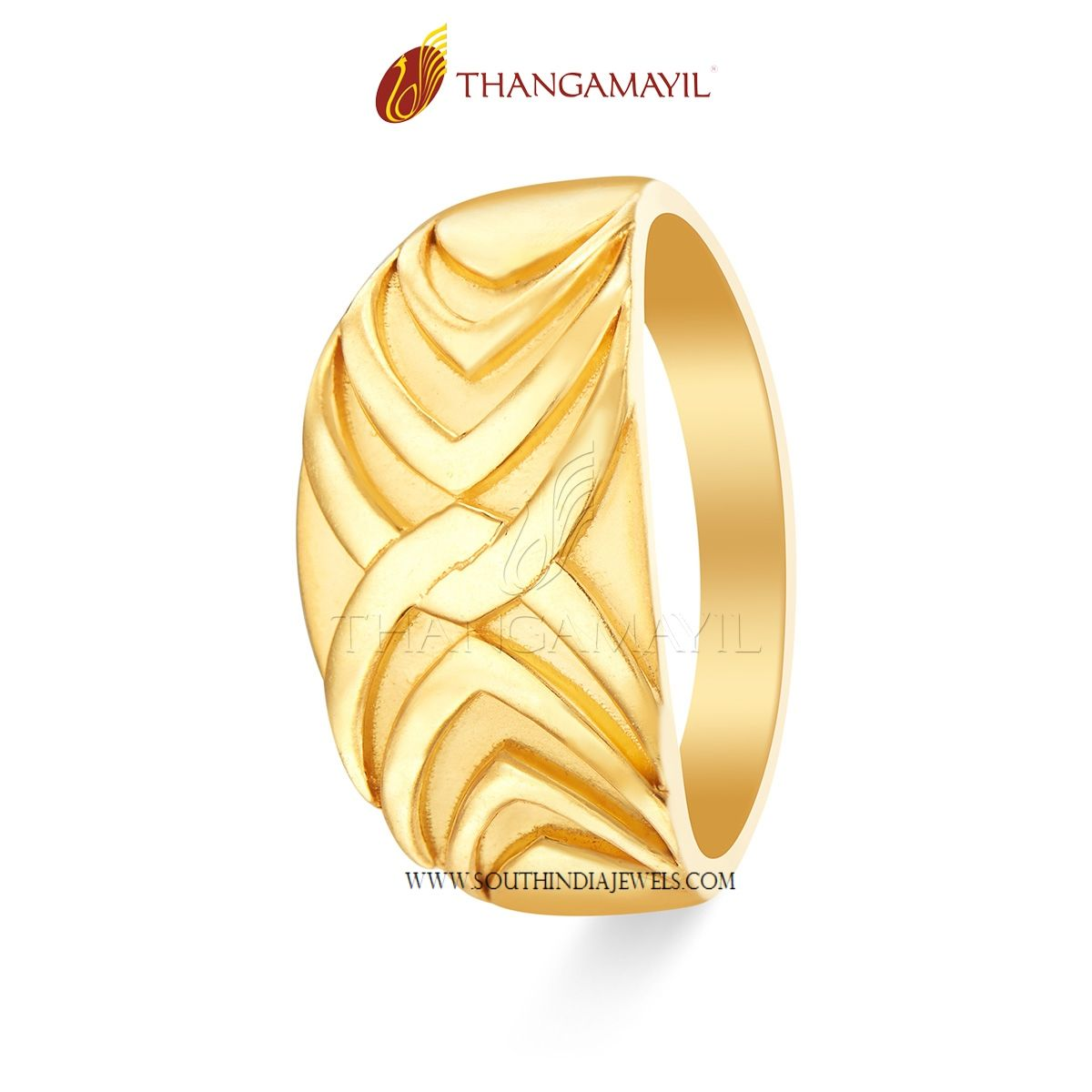51c058023f57c Gold Ring Design From Thangamayil Jewellery | Ring Collections ...