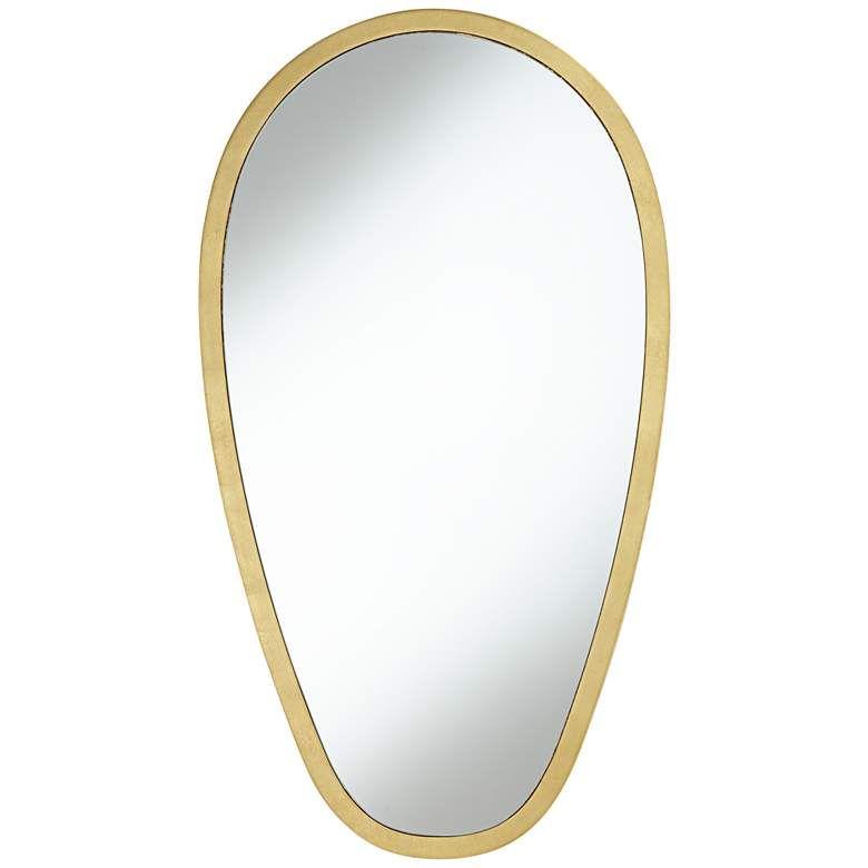 Trance Gold 20 X 36 Oblong Wall Mirror 60j32 Lamps Plus Mirror Wall Mirror Lamps Plus 20 x 36 mirror