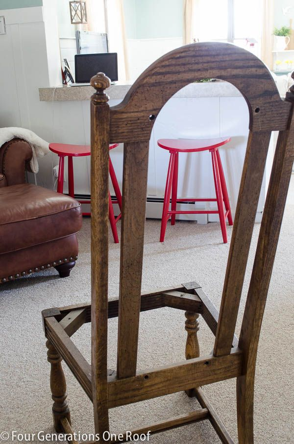 How to reupholster a dining chair | Dining chairs, Dining and Fabrics