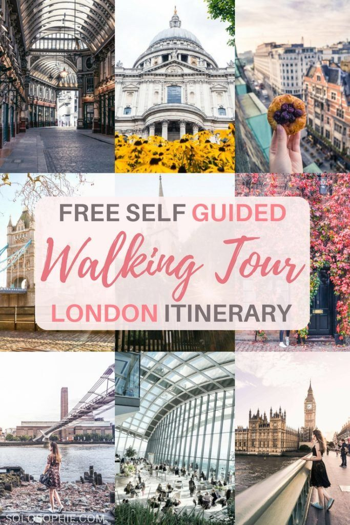 Self Guided London Walking Tour History & Culture