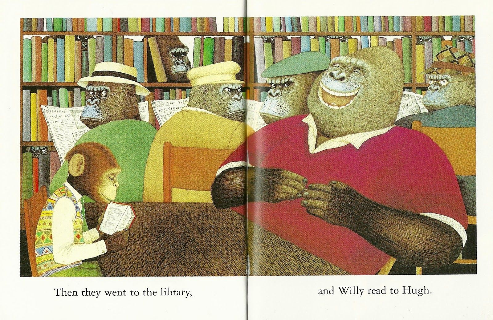 Workbooks willy the wimp worksheets : Willy and Hugh. Anthony Browne. UK: Red Fox, 2008   Anthony Browne ...