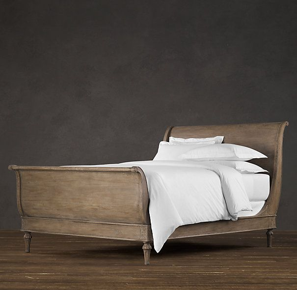 Restoration Hardware Empire Rosette: Restoration Hardware EMPIRE ROSETTE SLEIGH BED $1795