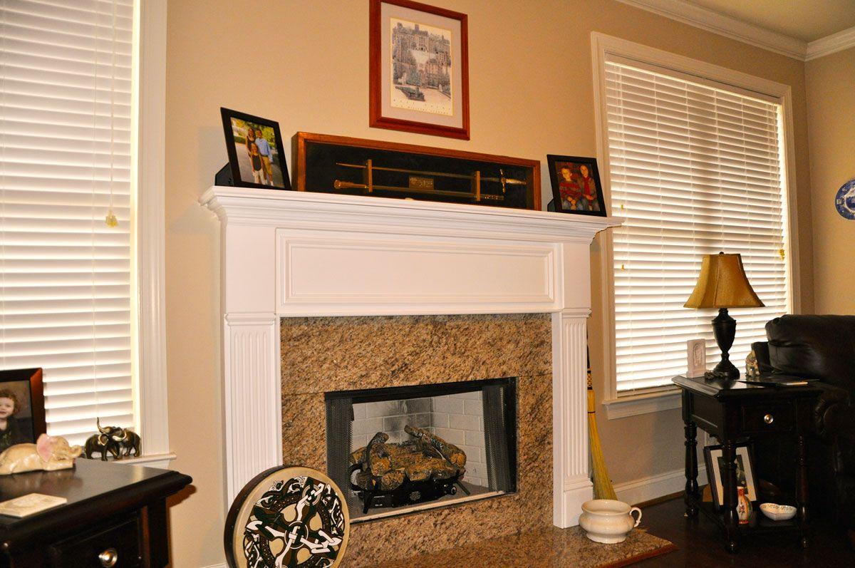 The Bradford Mantel Custom Wood Fireplace Mantels The Mantel
