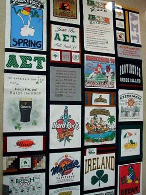 T-shirt quilt...making good use of all of those sorority and ... : tee shirt quilt directions - Adamdwight.com