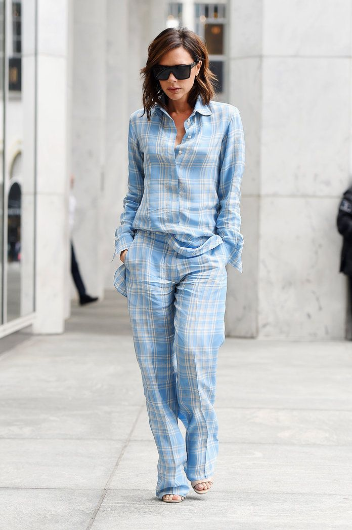 Victoria Beckham Test Drives Two Looks From Her Resort