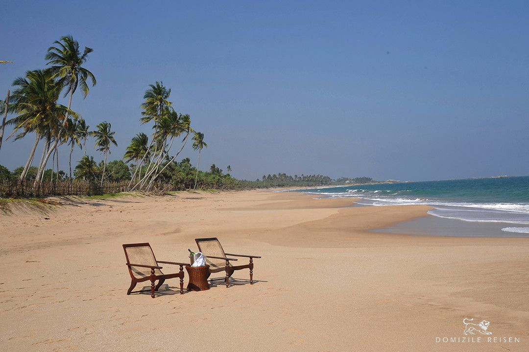 #SRILANKA #HOLIDAY Luxusvilla-Sri Lanka-Tangalle - 8 ha parkland - staff - swimming pool - marine turtles at the beach - 2-8 persons - from 540 € per day