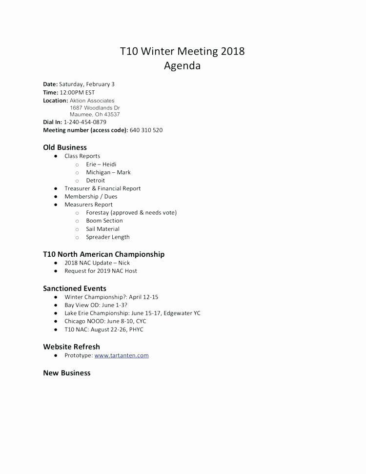 Non Profit Board Report Template Agenda Template Meeting Agenda Template Team Meeting Agenda