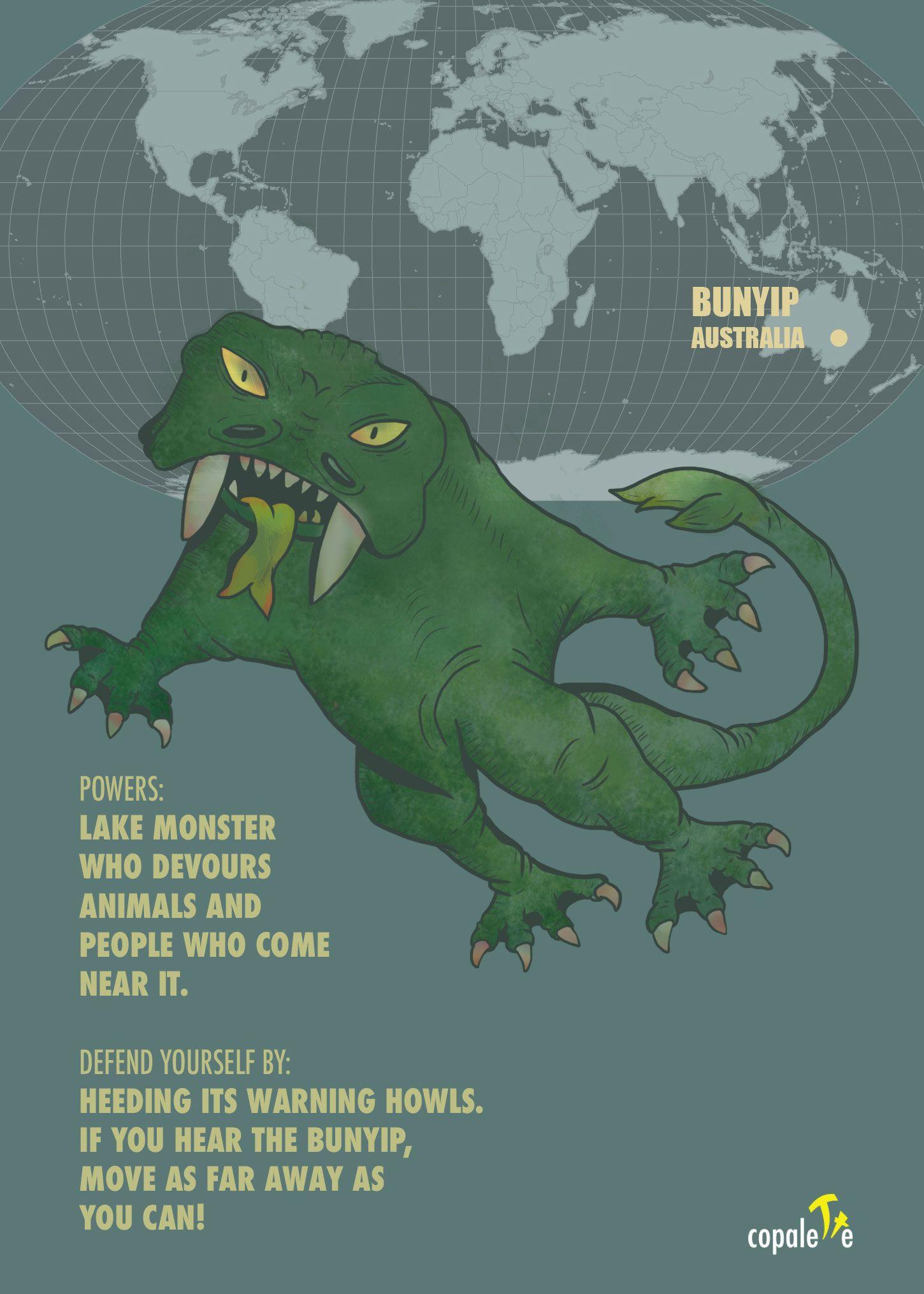 Cryptozoology Monsters Of The World Bunyip Australia