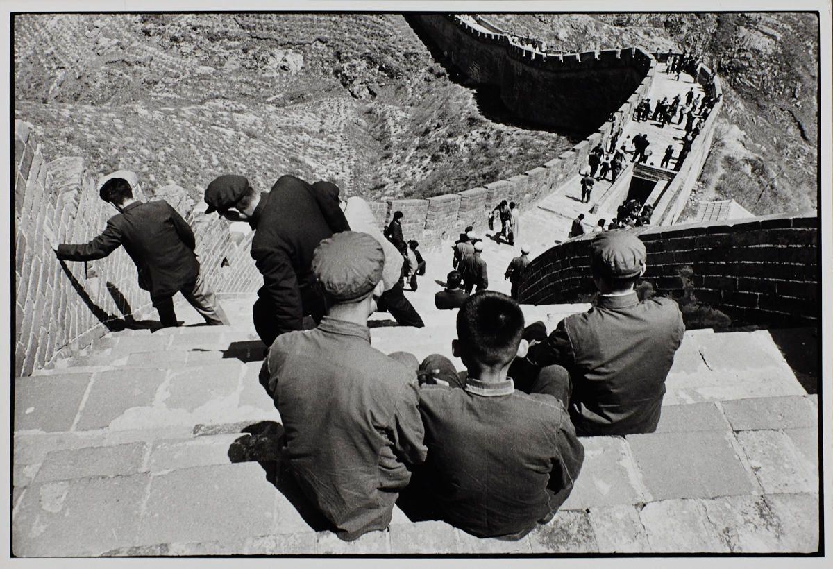 © René Burri, 1964, The Great Wall, China