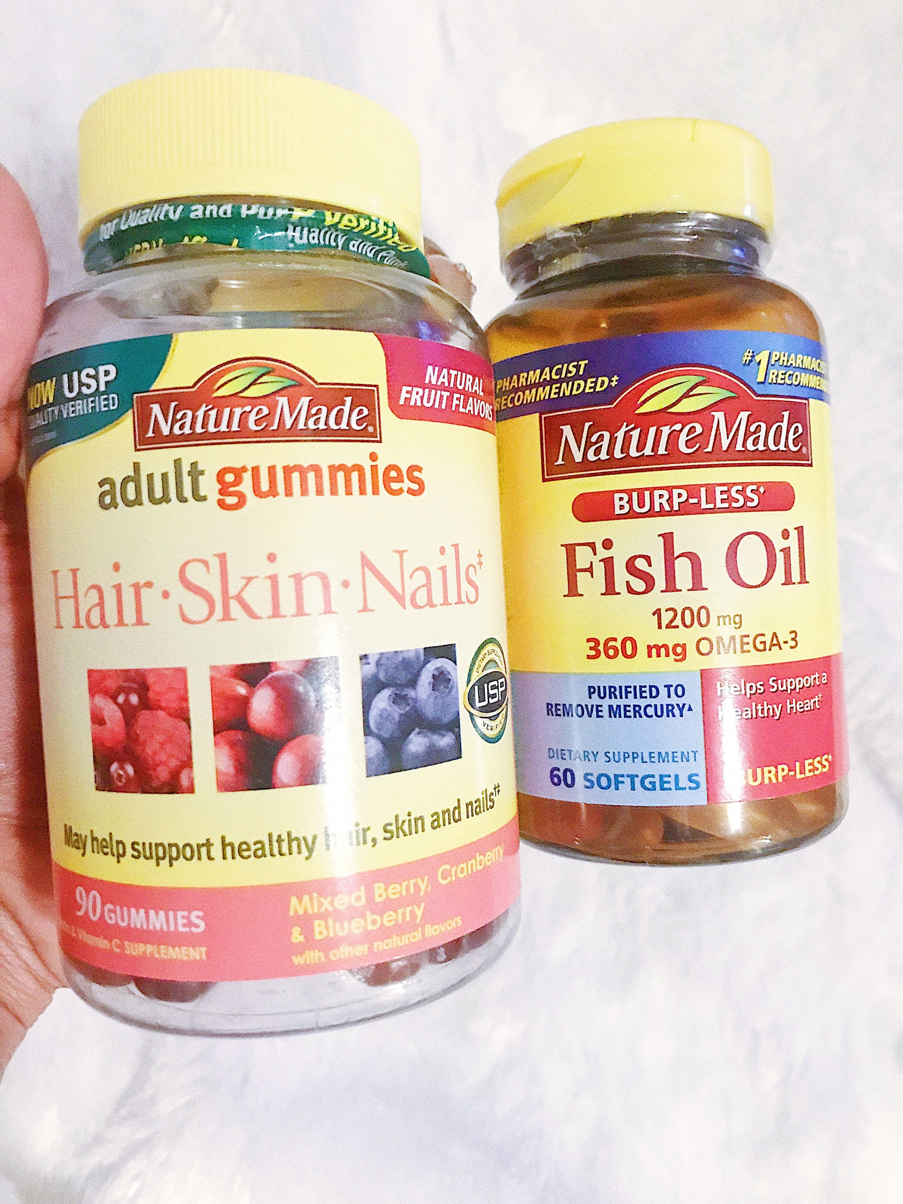 Fish oil for hair: feedback on the results 100