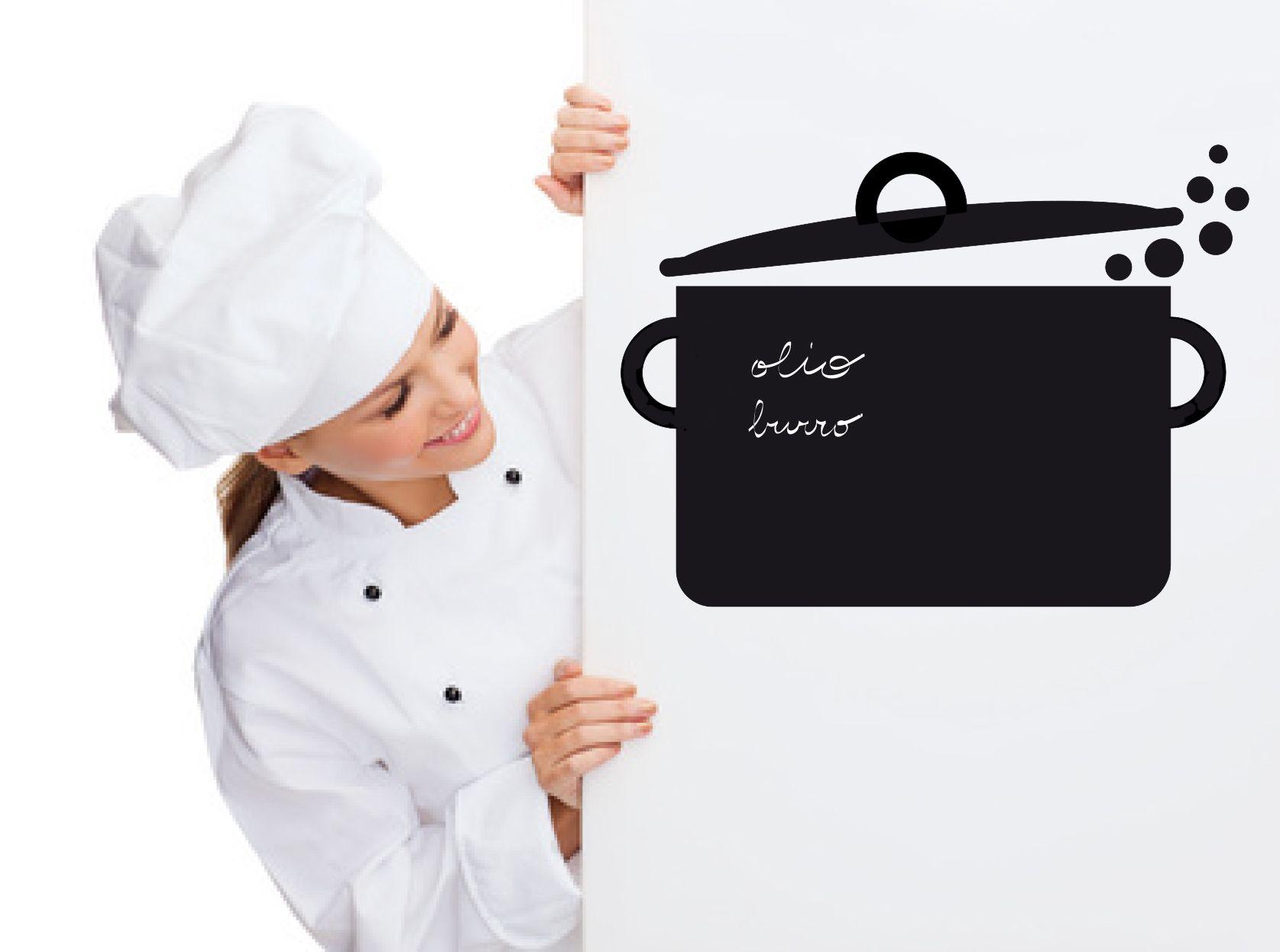 Lavagna adesiva per decorare le pareti della tua cucina- Blackboard ...