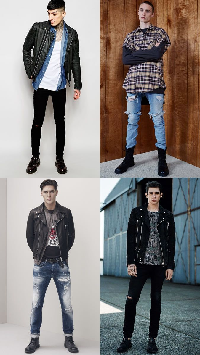 Men\u0027s Modern Punks,Inspired Outfit Lookbook
