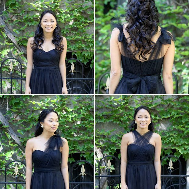 c56b5938dd77 4 ways to wear the Jenny Yoo wren convertible dress // for bridesmaids or  any special occasion