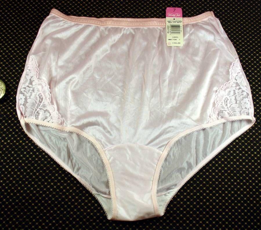 0325b0f868 Vintage NOS Vanity Fair All Nylon Antron III Sweet Pink Panties Style 13001  Tags  VanityFair  BriefsHiCuts