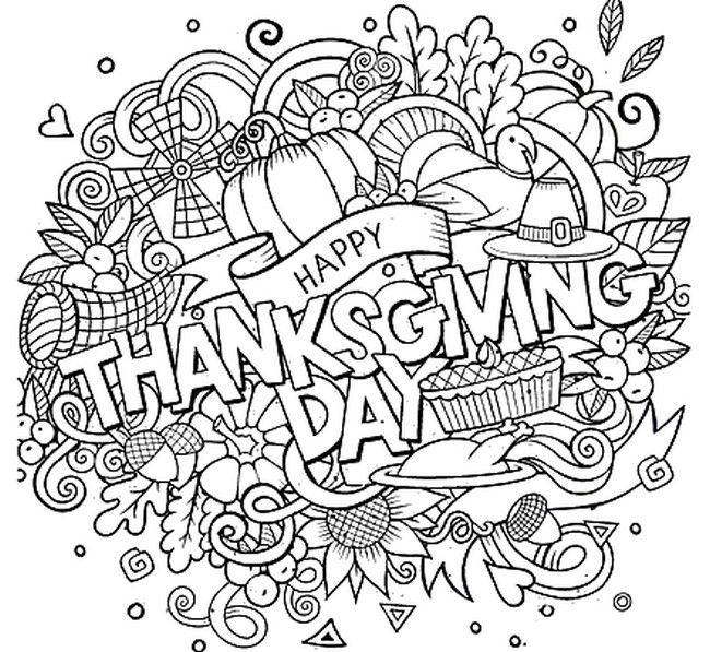 thanksgiving adult coloring pages Thanksgiving adult coloring page | Thanksgiving asp | Coloring  thanksgiving adult coloring pages