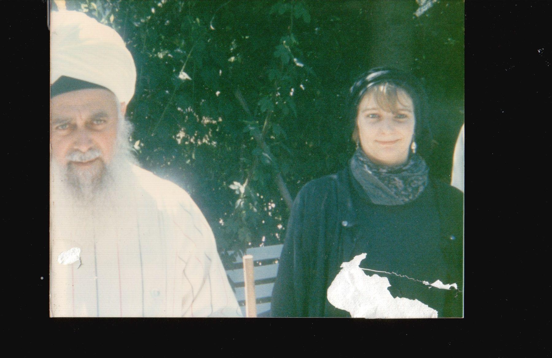 Meine ersten zaghaften Annäherungen an meinen Sheikh, danke für das Foto lieber Nourredine Chergui 1989
