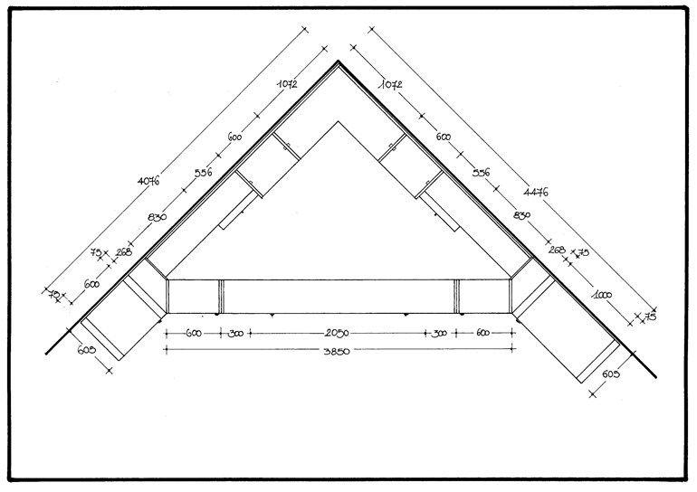 Cabina armadio angolare in legno 700 | Cabina armadio angolare by Caroti