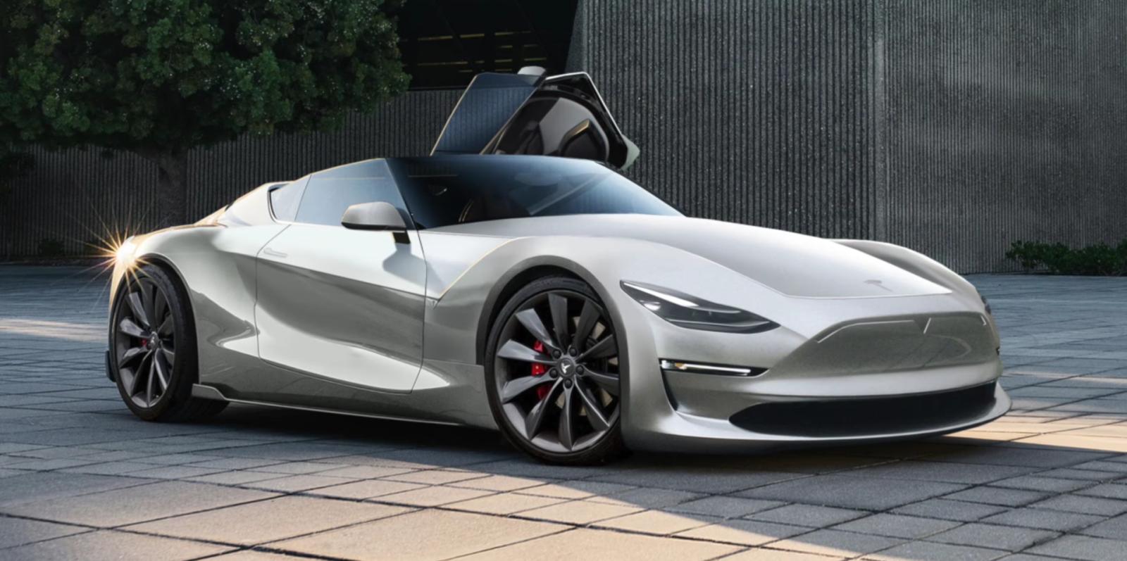 Tesla Roadster Next Gen Elon Musk Considers Mph Target Under